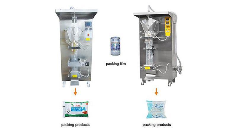 Упаковочная машина для фасовки в пакеты типа «саше»