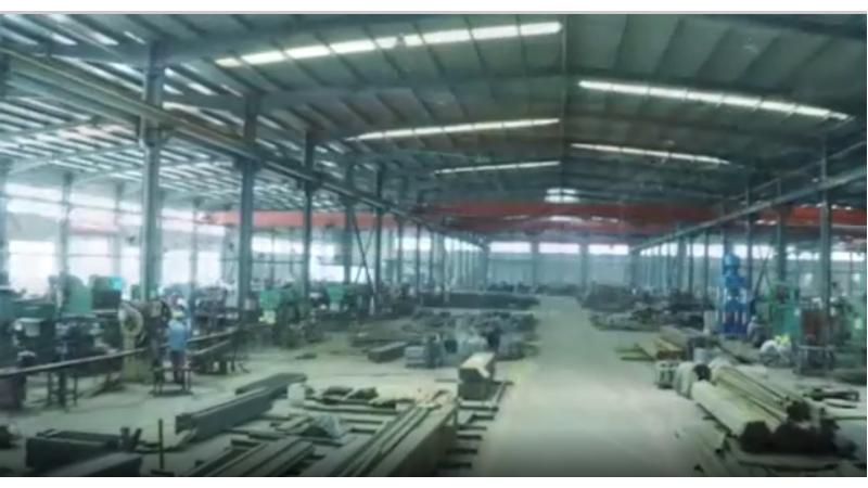 Производство опор ЛЭП из стальных труб