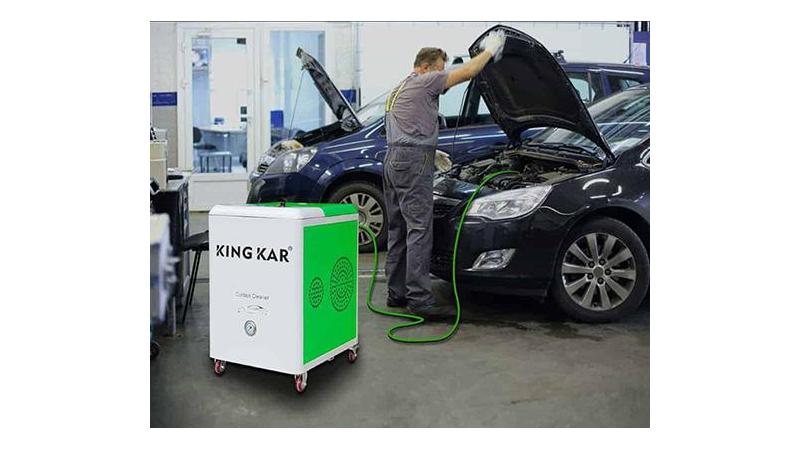 Машина ННО для водородной очистки двигателя автомобиля