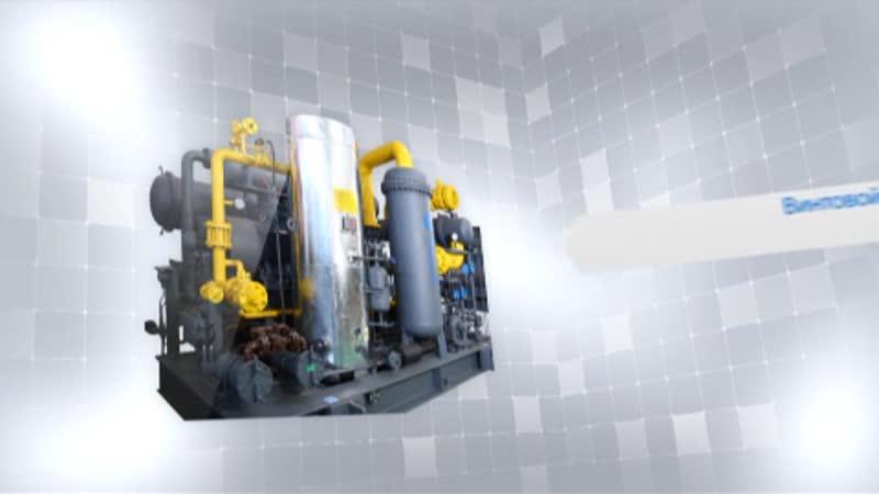 Винтовые компрессор для технологических газов
