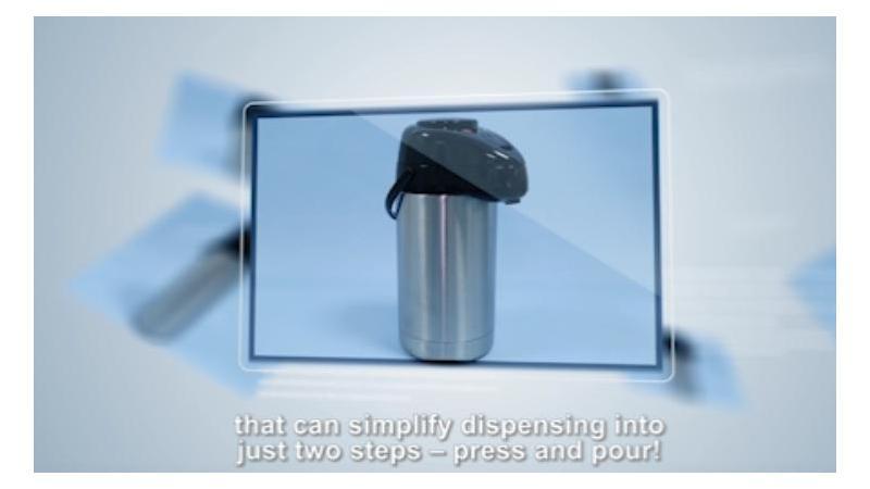 Термосы-кувшины со стеклянной колбой SGP-1000K-C