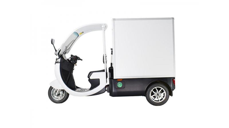 Электрические фургоны серии PLANTE