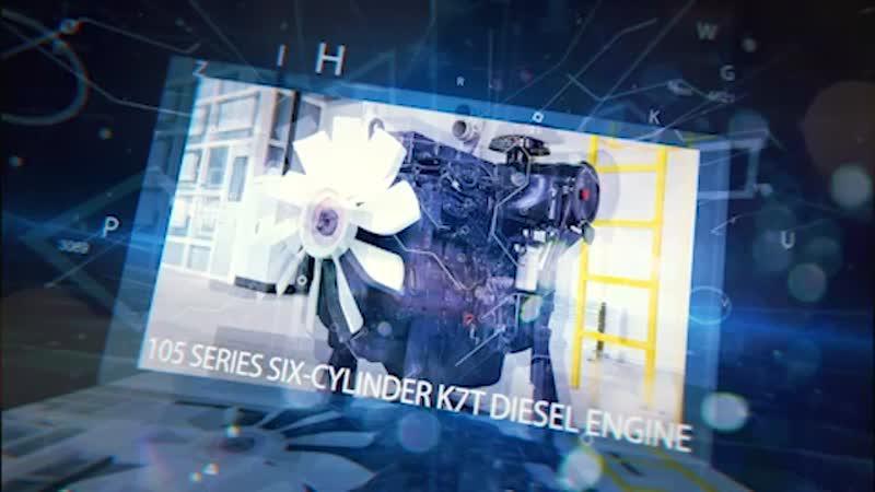 6-ти цилиндровый дизельный двигатель K7T