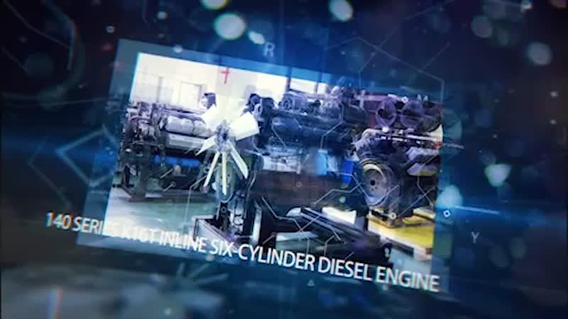 6-ти цилиндровый дизельный двигатель K16T