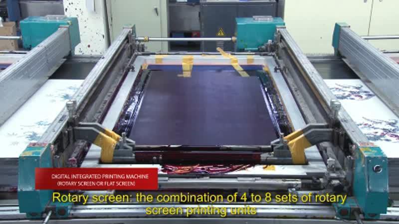 Цифровая печатная машина (цилиндрический экран или плоский экран)