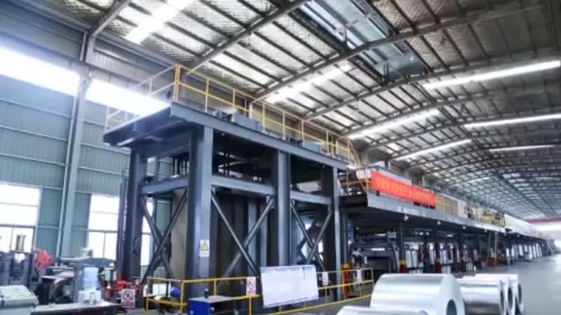 Производство и внедрение стальных листов с цветным покрытием