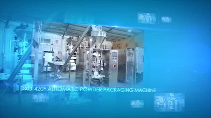 Автоматическая машина для упаковки сыпучих продуктов DXD-420A