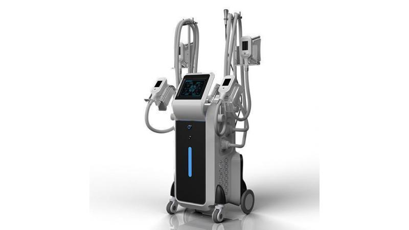 Устройство для похудения с ультракрасным, РЧ, вакуумным и роликовым массажерами