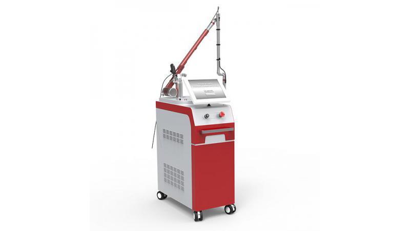 Лазерное устройство Nd:Yag с импульсным режимом (Q-switching)