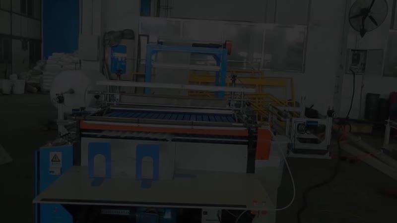 Машина для производства пакетов из пенополиэтилена