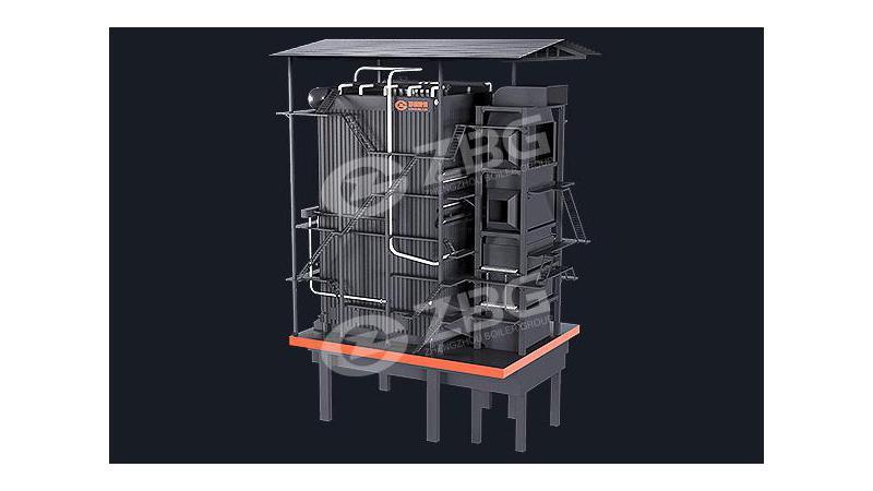 Паровой котел SZL,работающий на биомассе