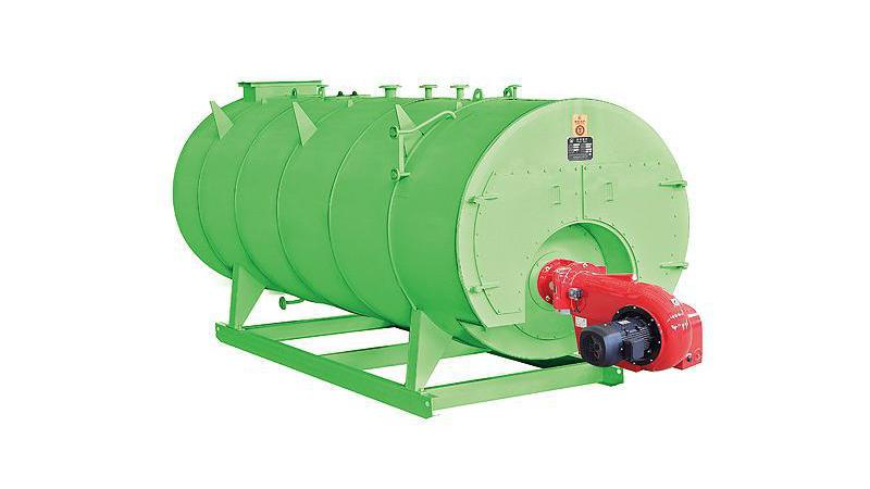 Паровой котел серии WNS,работающий на масле или газе