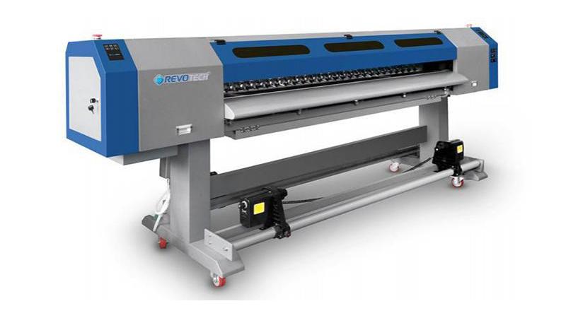 Закатывающий УФ-струйный принтер