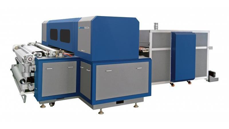 Цифровой ленточный текстильный принтер