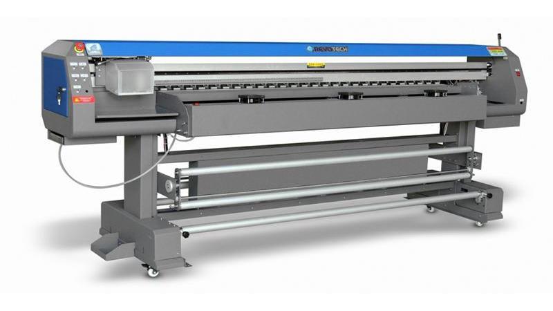 Печатная машина с пигментами на водной основе