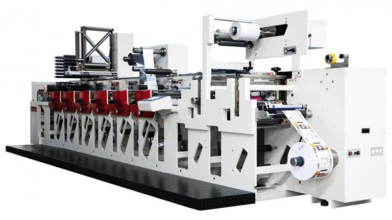 Флексографская узкорулонная печатная машина F3