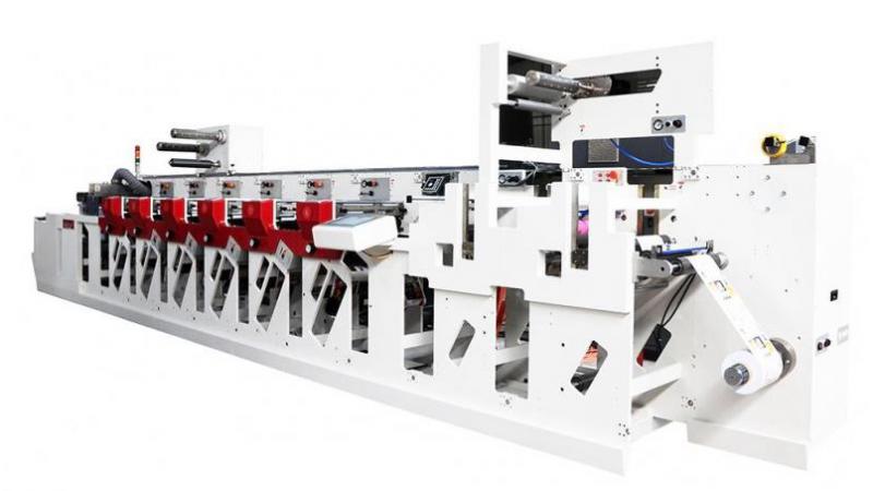 Флексографская узкорулонная печатная машина F5