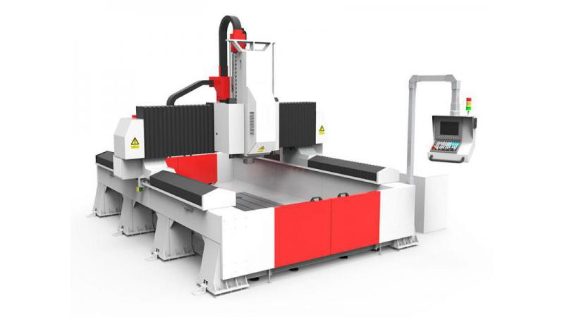 Обрабатывающий центр с ЧПУ для алюминиевых прототипов