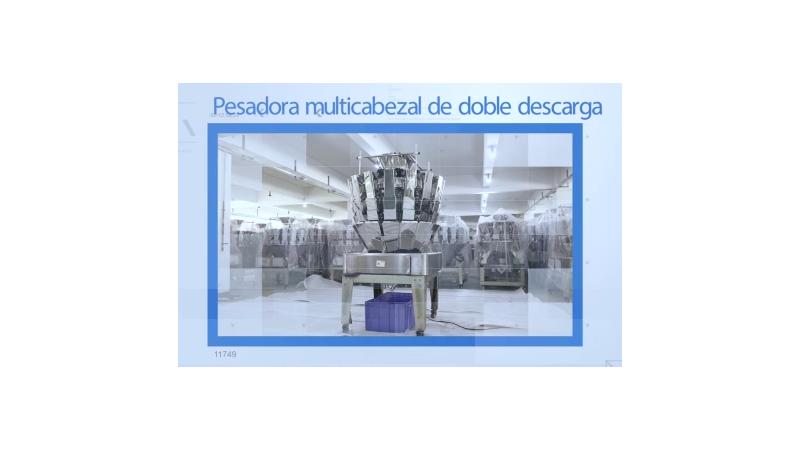 Дозатор весовой комбинационный двухкаскадный
