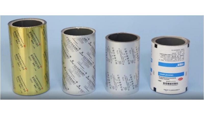 Многослойная метализированная пленка (БОПП/алюминиевая фольга/ПЭ)